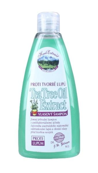 HERB EXTRACT Šampón proti lupinám s Tea Tree Oil