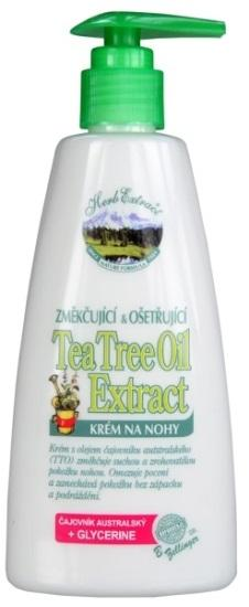 HERB EXTRACT Krém na nohy s Tea Tree Oil