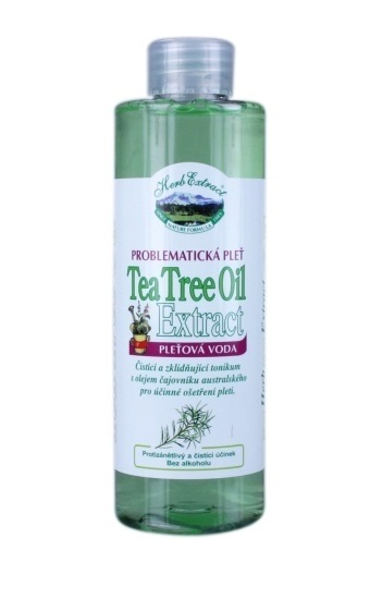 HERB EXTRACT Pleťová voda Tea Tree Oil